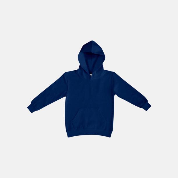 Marinblå (barn) Fina huvtröjor för herr, dam & barn med reklamtryck