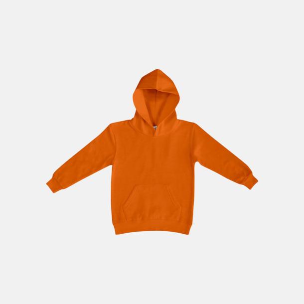 Orange (barn) Fina huvtröjor för herr, dam & barn med reklamtryck