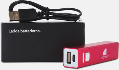 Standard förpackning Kraftfull mobilladdare med eget reklamtryck