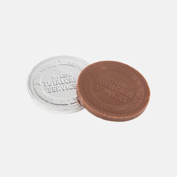 Chokladmynt i mindre format med prägling