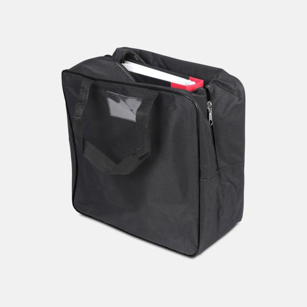 Svart Väska med eget reklamtryck