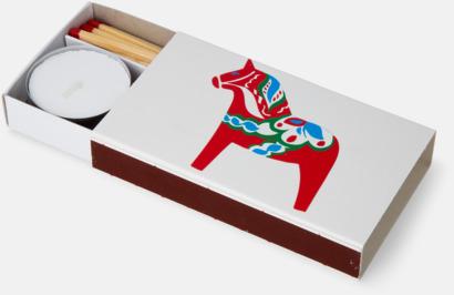 Custom-alternativ (tillval) Brasstickor packade 45 st/ask med reklamtryck