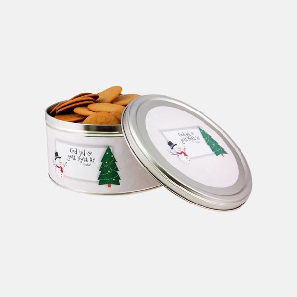 500 g (vitt tema) Pepparkakor med egen etikett