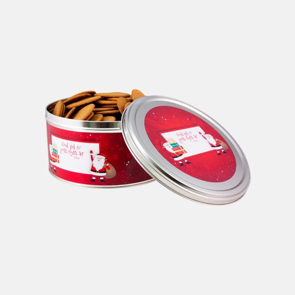 500 g (rött tema) Pepparkakor med egen etikett