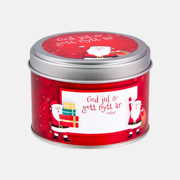 60 g (rött tema) Pepparkakor med egen etikett