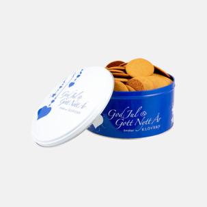 Plåtburkar med pepparkakor - ditt tryck över hela burken
