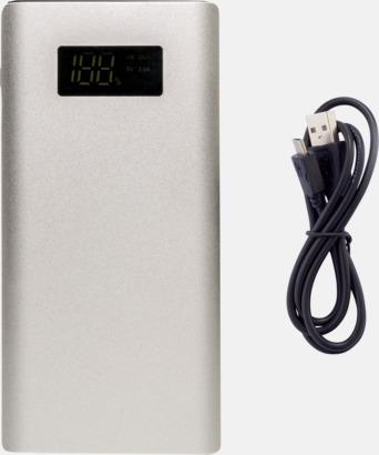Kraftfulla powerbanks med snabbladdnings-3.0-port - med reklamtryck