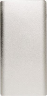 Baksida Kraftfulla powerbanks med snabbladdnings-3.0-port - med reklamtryck