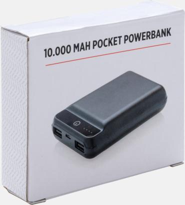 Presentförpackning Liten men väldigt kraftfull powerbank med reklamtryck