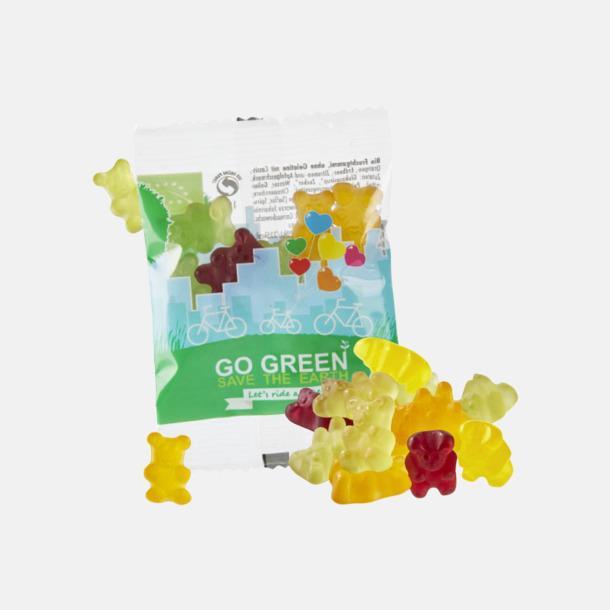 Gummibjörnar Veganskt reklamgodis