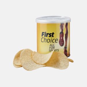 Pringles chips på burk med eget reklamtryck