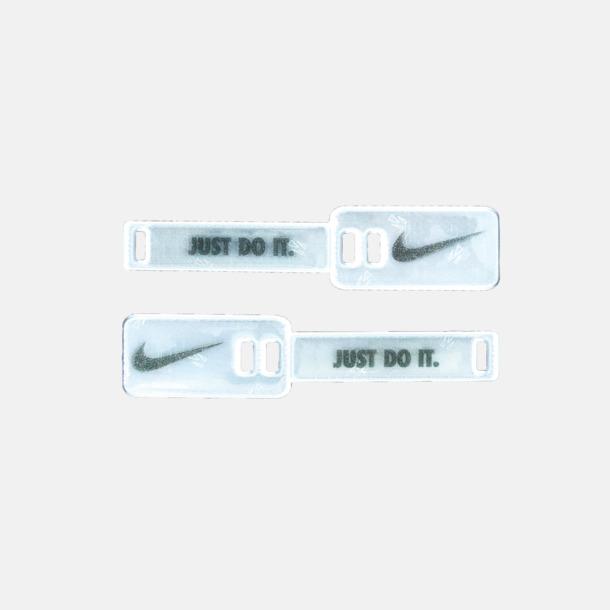 Reflextag för skosnöre med eget reklamtryck