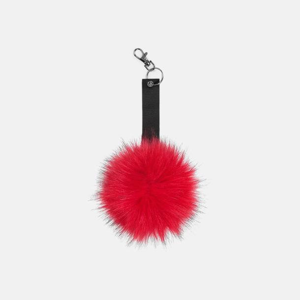 Robyn Fluffiga nyckelringar med reklamtryck