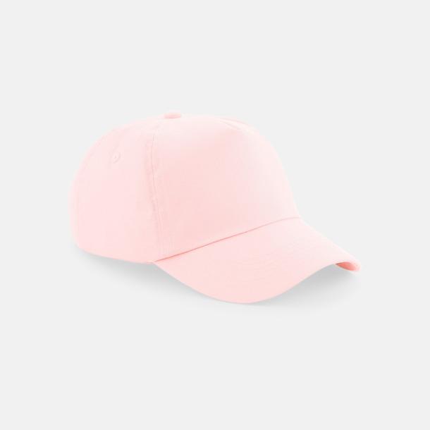 Pastel Pink (endast vuxen) Bomullskepsar för vuxna & barn - med reklamlogo