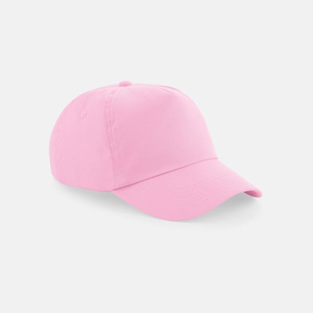 Classic Pink (vuxen) Bomullskepsar för vuxna & barn - med reklamlogo