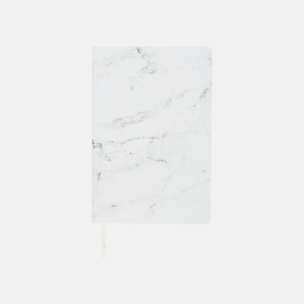 Marmormönstrade anteckningsböcker med reklamtryck