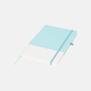 2-färgade anteckningsblock i A5-format med reklamtryck