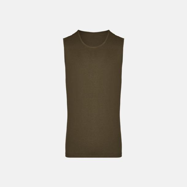 Olive (herr) Moderna linnen för herr & dam - med reklamtryck