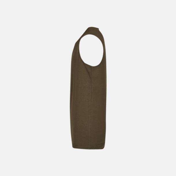 Moderna linnen för herr & dam - med reklamtryck