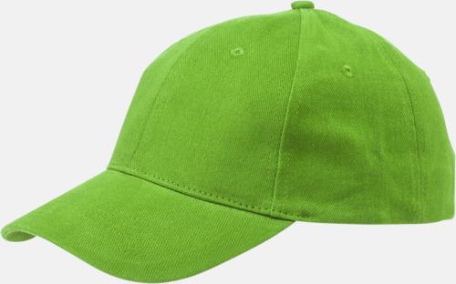 Apple Green Billiga, enfärgade kepsar med reklamlogo