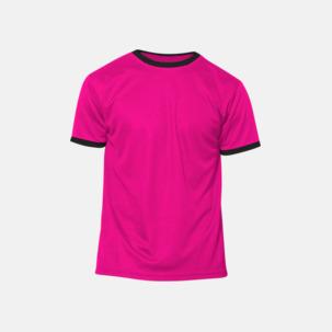 Herr- & barn t-shirts i funktionsmaterial med reklamtryck