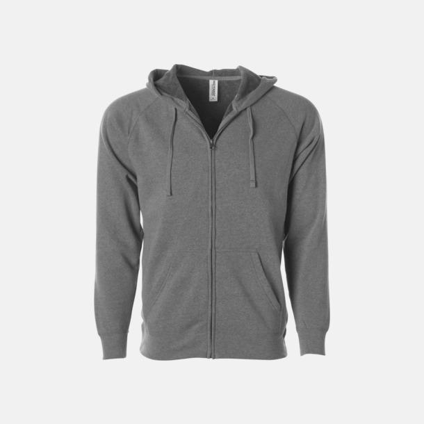Nickel Blixtlås hoodies i unisex med reklamtryck