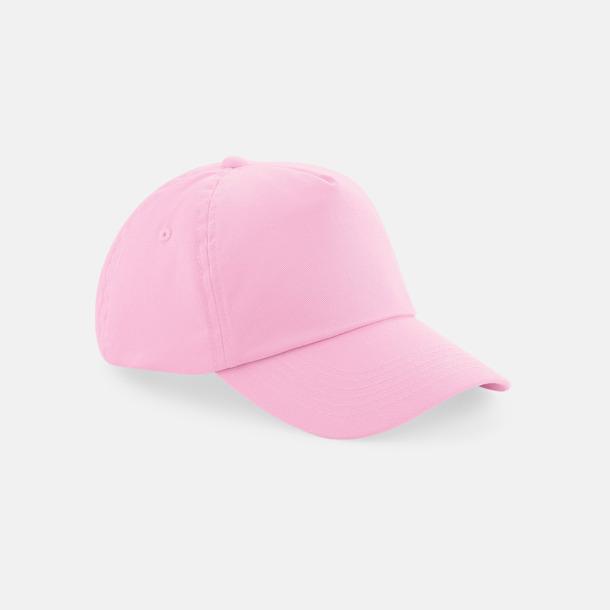 Classic Pink (barn) Bomullskepsar för vuxna & barn - med reklamlogo