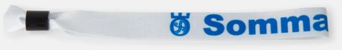 Armband av satin med reklamtryck