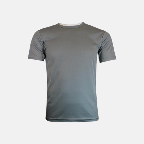Anthracite solid (herr) Tränings t-shirts för herr, dam & barn - med reklamtryck