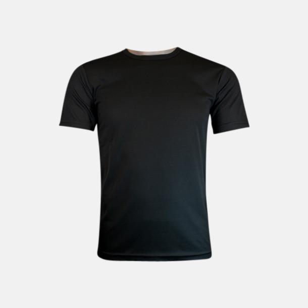 Svart (herr) Tränings t-shirts för herr, dam & barn - med reklamtryck