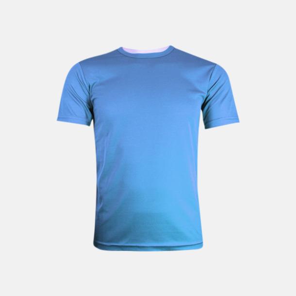 Bright Blue (herr) Tränings t-shirts för herr, dam & barn - med reklamtryck