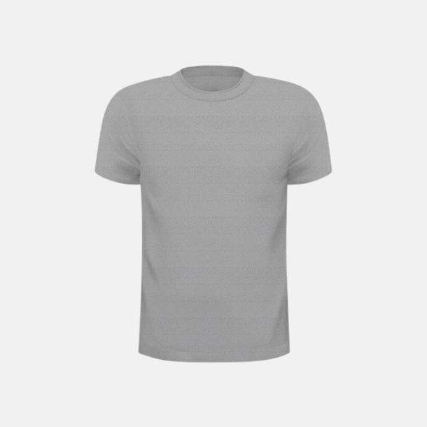 Light Grey Melange (herr) Tränings t-shirts för herr, dam & barn - med reklamtryck