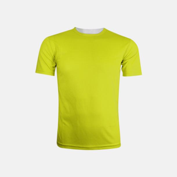 Lime (herr) Tränings t-shirts för herr, dam & barn - med reklamtryck