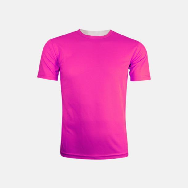 Magenta (herr) Tränings t-shirts för herr, dam & barn - med reklamtryck