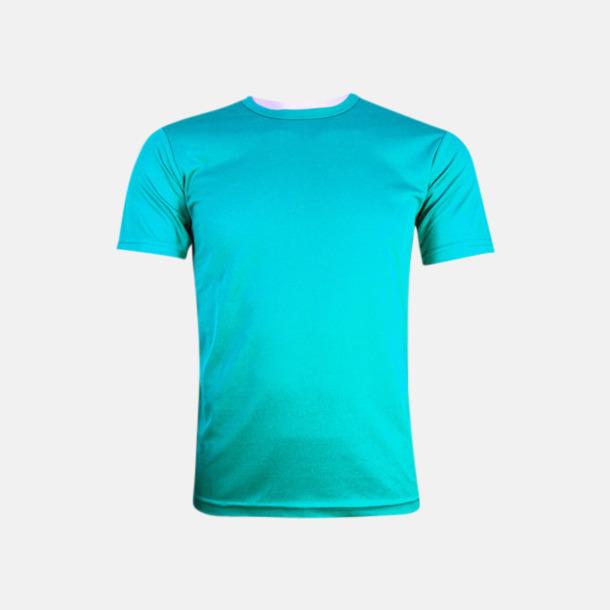 Malibu Turquoise (herr) Tränings t-shirts för herr, dam & barn - med reklamtryck