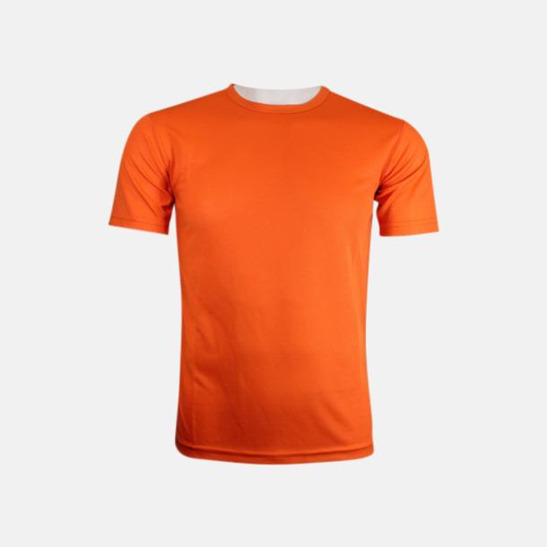 Orange (herr) Tränings t-shirts för herr, dam & barn - med reklamtryck