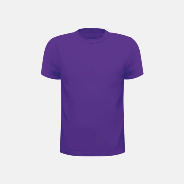 Lila (herr) Tränings t-shirts för herr, dam & barn - med reklamtryck
