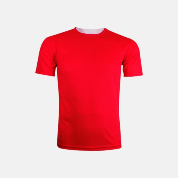 Röd (herr) Tränings t-shirts för herr, dam & barn - med reklamtryck