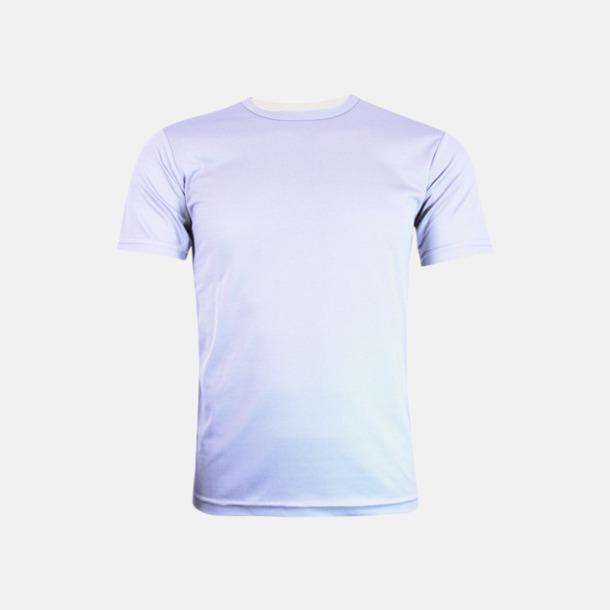 Vit (herr) Tränings t-shirts för herr, dam & barn - med reklamtryck