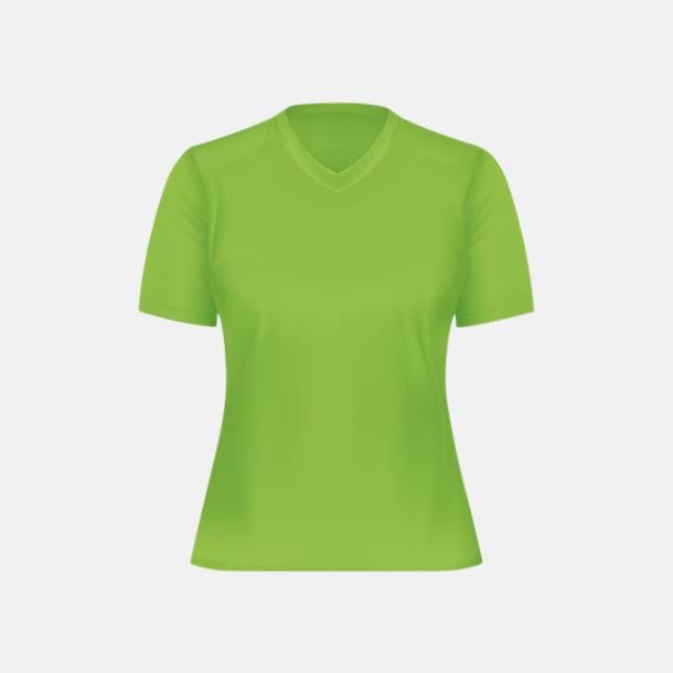 Lime (dam) Tränings t-shirts för herr, dam & barn - med reklamtryck