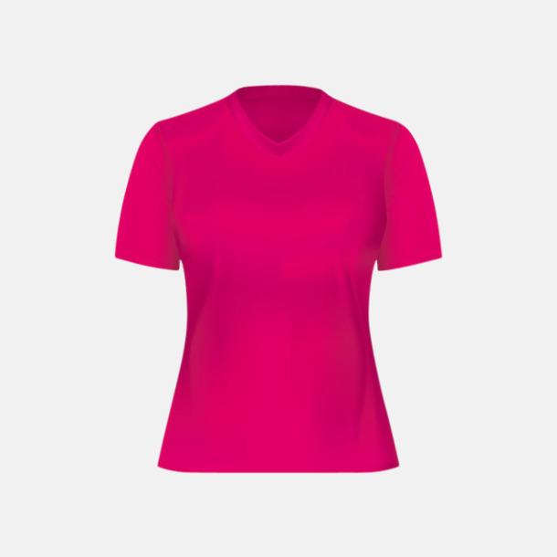 Magenta (dam) Tränings t-shirts för herr, dam & barn - med reklamtryck