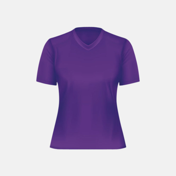 Lila (dam) Tränings t-shirts för herr, dam & barn - med reklamtryck