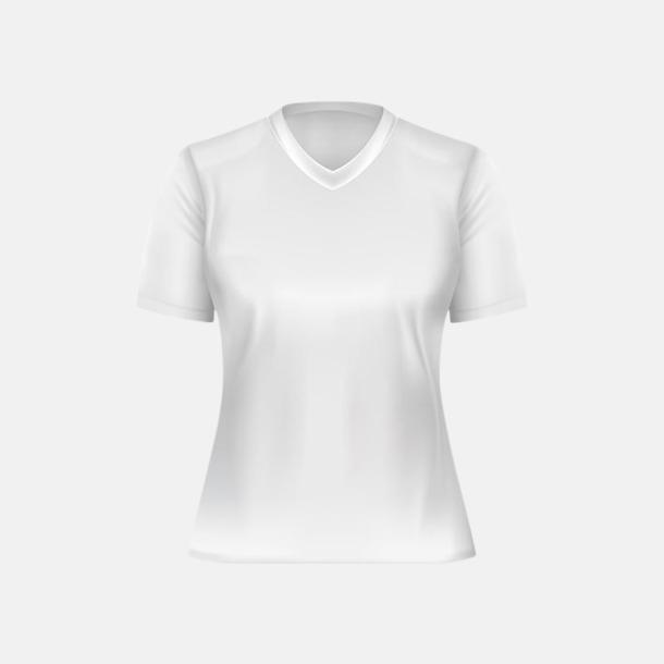 Vit (dam) Tränings t-shirts för herr, dam & barn - med reklamtryck