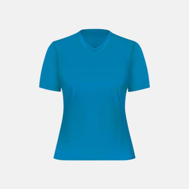 Malibu Turquoise (dam) Tränings t-shirts för herr, dam & barn - med reklamtryck
