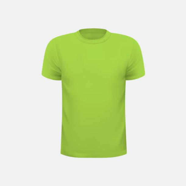 Lime (barn) Tränings t-shirts för herr, dam & barn - med reklamtryck
