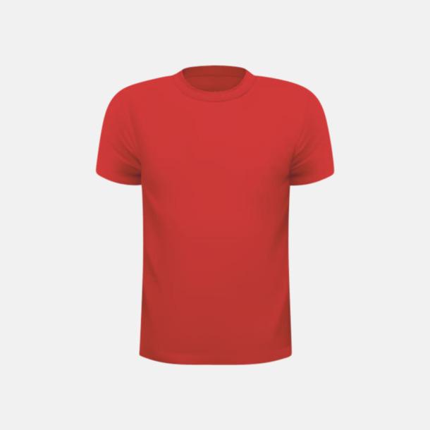 Röd (barn) Tränings t-shirts för herr, dam & barn - med reklamtryck