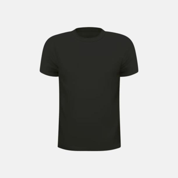 Svart (barn) Tränings t-shirts för herr, dam & barn - med reklamtryck