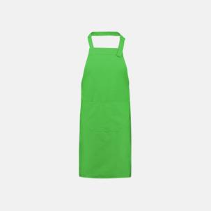 Billiga förkläden i många färger med reklamtryck