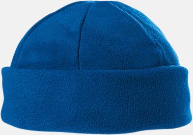 Royal Blue Fleecemössor i många färger med reklamlogo
