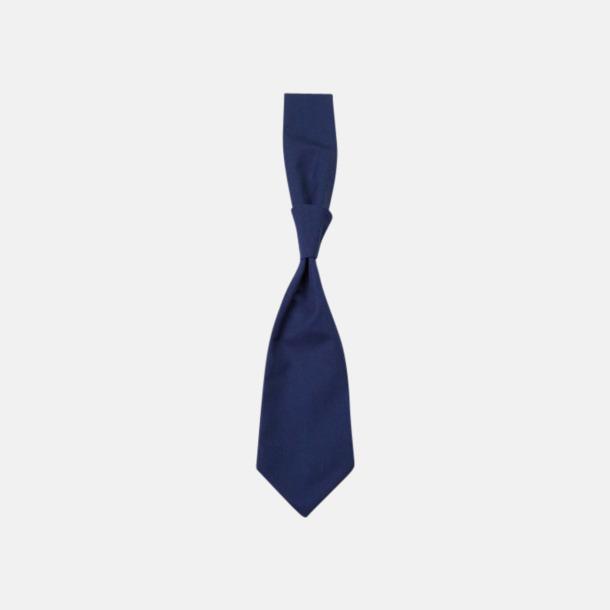Marinblå (slips) Ready-to-wear slipsar och kravatter med eget tryck